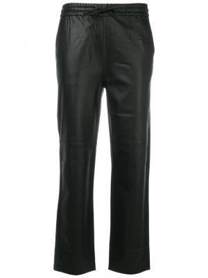Укороченные брюки J Brand. Цвет: чёрный