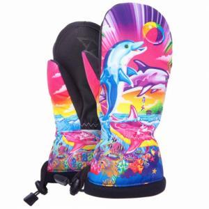 Варежки Celtek. Цвет: lisa frank dolphins