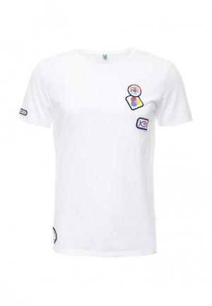 Футболка United Colors of Benetton. Цвет: белый