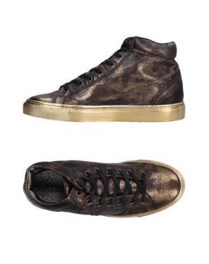 Высокие кеды и кроссовки PLAYHAT. Цвет: бронзовый