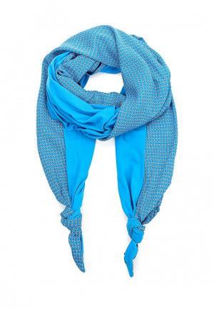 Палантин Olange Assorty. Цвет: голубой