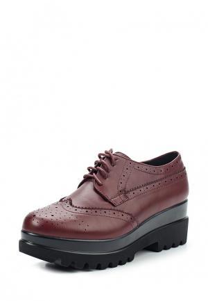 Ботинки La Bottine Souriante. Цвет: бордовый