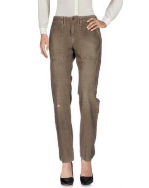 Повседневные брюки (+) PEOPLE. Цвет: серый