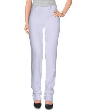Повседневные брюки CRISTINAEFFE. Цвет: белый