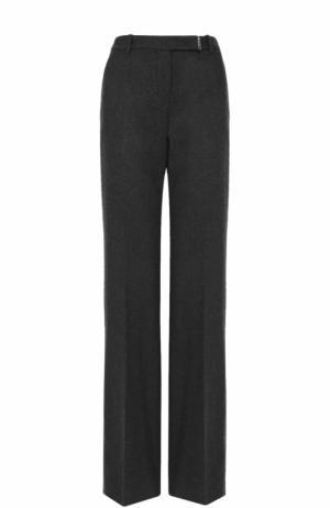 Расклешенные кашемировые брюки со стрелками Loro Piana. Цвет: темно-серый