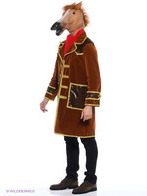 Карнавальный костюм Конь в пальто коричневый (д/взр) Батик. Цвет: коричневый