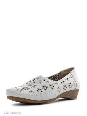 Туфли Spur. Цвет: белый
