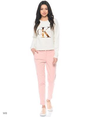 Брюки Calvin Klein. Цвет: бледно-розовый