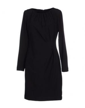 Короткое платье ST-MARTINS. Цвет: черный