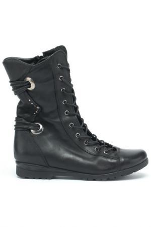 Ботинки Sattini. Цвет: черный
