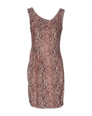 Короткое платье AXARA PARIS. Цвет: пастельно-розовый