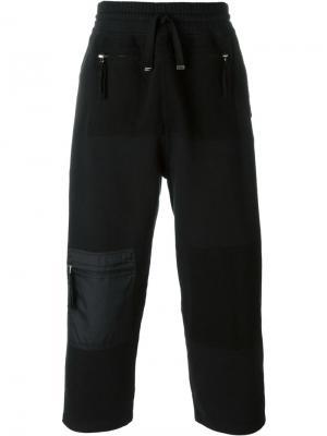 Спортивные брюки с карманом на молнии Blood Brother. Цвет: чёрный