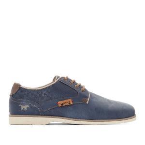 Ботинки-дерби на шнуровке MUSTANG SHOES. Цвет: каштановый,синий морской