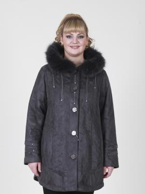 Куртка Триша VIKO. Цвет: темно-серый