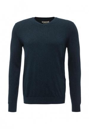 Пуловер Celio. Цвет: синий