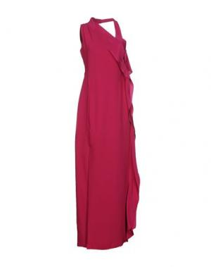 Длинное платье RAOUL. Цвет: фуксия