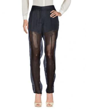 Повседневные брюки PETAR PETROV. Цвет: темно-синий