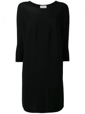Платье с длинными рукавами Christian Wijnants. Цвет: чёрный