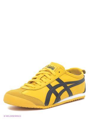 Тренировочные кроссовки MEXICO 66 ONITSUKA TIGER. Цвет: желтый