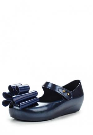 Туфли Melissa. Цвет: синий