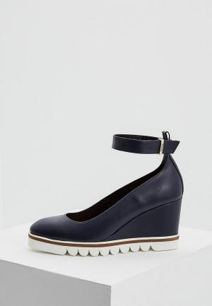 Туфли Max&Co. Цвет: синий