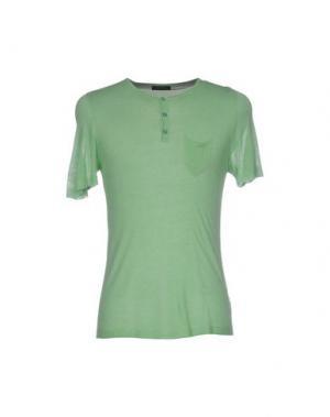 Свитер +39 MASQ. Цвет: светло-зеленый
