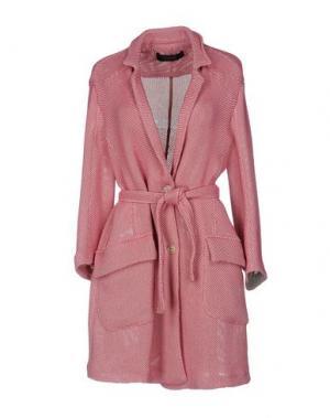 Легкое пальто CIVIDINI. Цвет: розовый