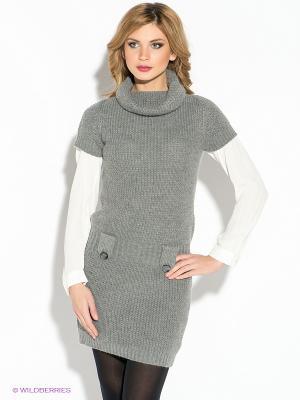Платье Gerry Ross. Цвет: серый