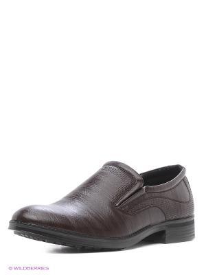 Туфли San Marko. Цвет: темно-коричневый