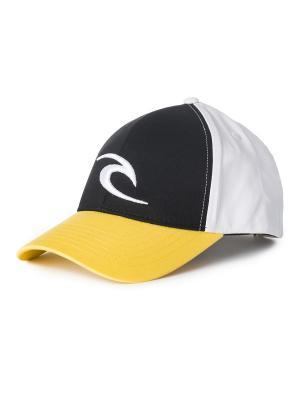 Кепка  ICON SNAPBACK CAP Rip Curl. Цвет: черный, желтый