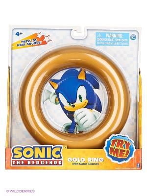Кольцо со звуком из игры Sonic. Цвет: желтый