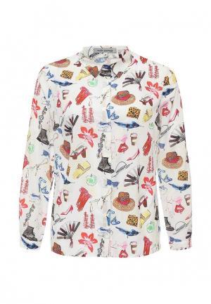 Блуза Profito Avantage. Цвет: белый