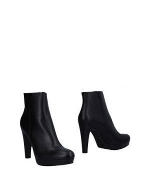 Полусапоги и высокие ботинки L'AMOUR. Цвет: черный