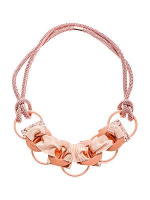 Ожерелье Caractere. Цвет: розовый