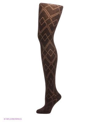Колготки Burlesco. Цвет: темно-коричневый