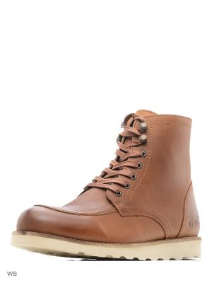 Ботинки GUT. Цвет: светло-коричневый