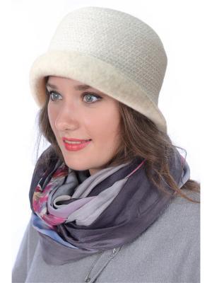 Шляпа Сиринга. Цвет: бежевый, молочный