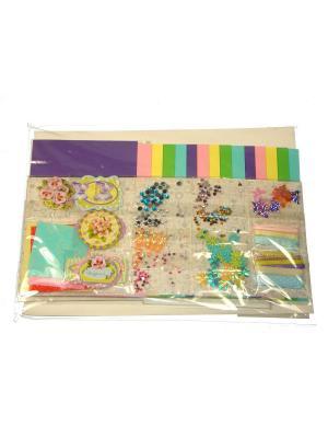 Набор Сделай открытки Азбука Тойс. Цвет: фиолетовый