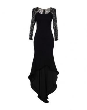 Платье длиной 3/4 MUSANI COUTURE. Цвет: черный