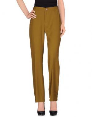 Повседневные брюки AILANTO. Цвет: зеленый-милитари