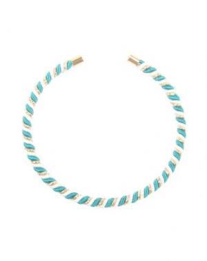 Ожерелье VANINA. Цвет: изумрудно-зеленый