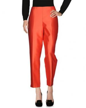 Повседневные брюки CLIPS. Цвет: коралловый
