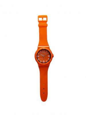 Часы настенные ArteNuevo. Цвет: оранжевый