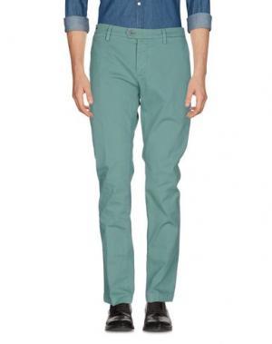 Повседневные брюки TELERIA ZED. Цвет: светло-зеленый