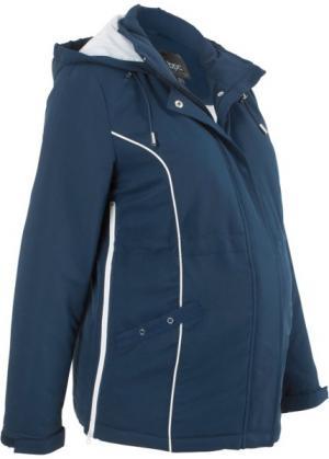 Куртка для беременных (темно-синий) bonprix. Цвет: темно-синий