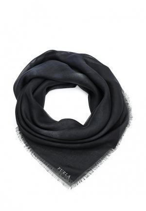 Платок Furla. Цвет: черный