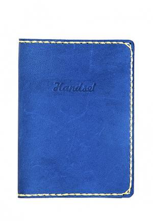 Обложка для документов Handsel. Цвет: синий