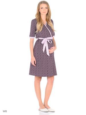 Комплект для беременных и кормящих FEST. Цвет: коричневый, бледно-розовый