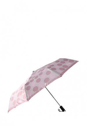 Зонт складной Eleganzza. Цвет: розовый