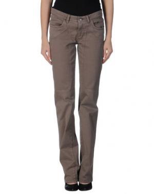 Джинсовые брюки JECKERSON. Цвет: хаки
